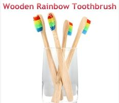 Rainbow Toothbrushes, by: Aria F.