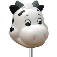 Cow Antenna Balls, by: Kaitlynn  Fultz