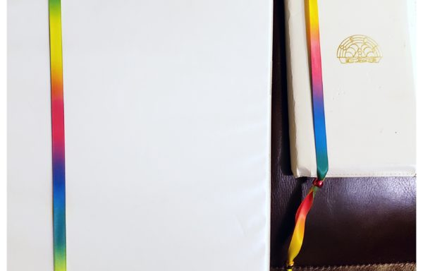 Rainbow Ribbon Bookmark Placeholders, by: Indyanna Serack